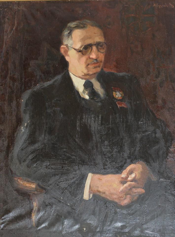 Üzeyir Hacıbəylinin portreti